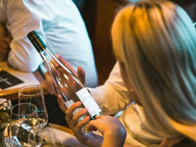 Business Wine Tasting Weinflasche