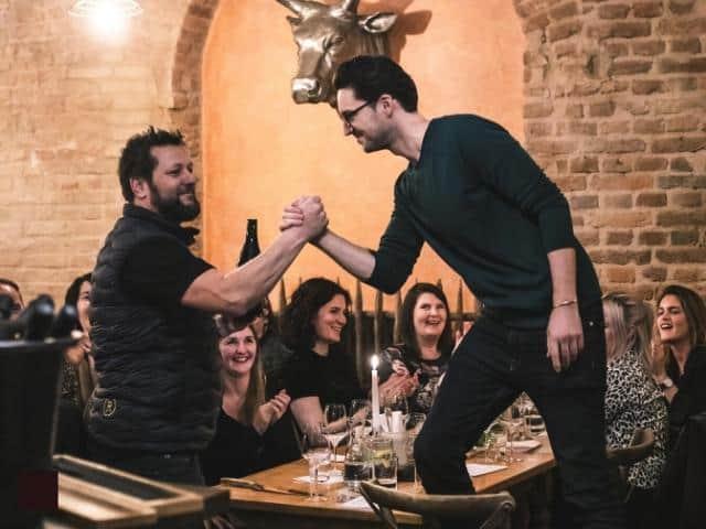 Online Wine Tasting Team Event