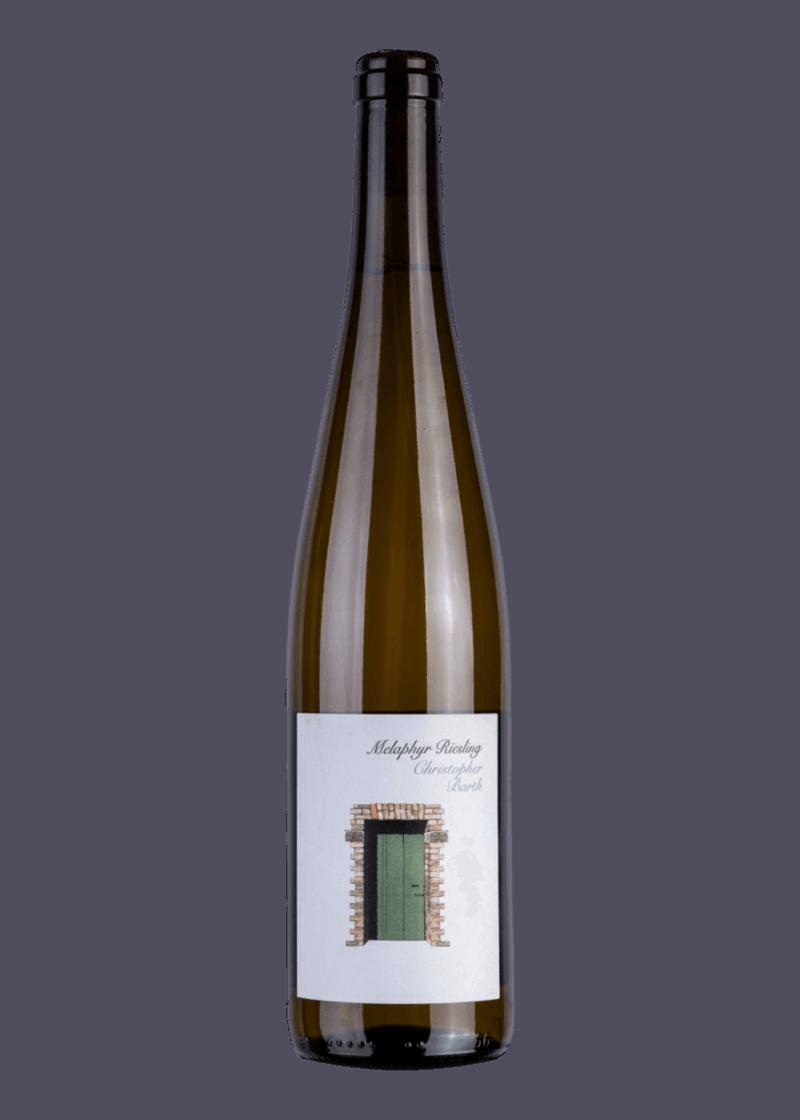Weinflasche Melaphyr Riesling von Christopher Barth
