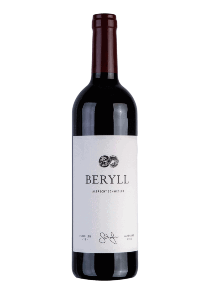 Weinflasche Beryll von Albrecht Schwegler