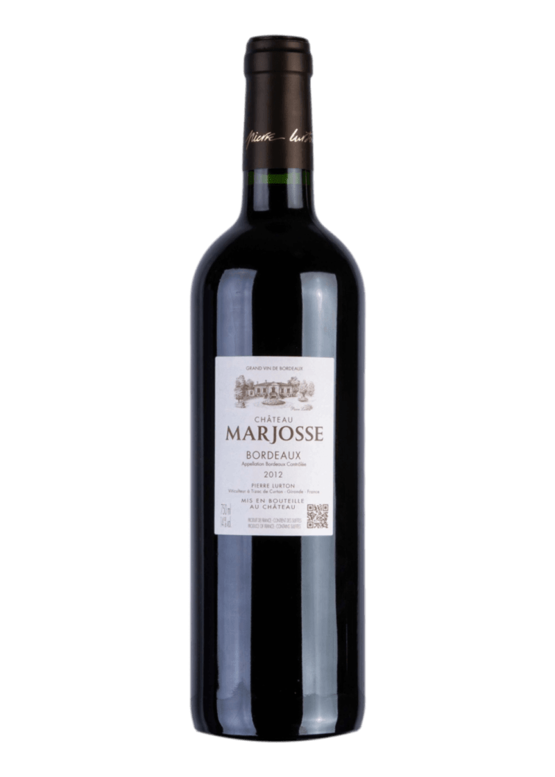 Weinflasche Bordeaux von Chateau Marjosse