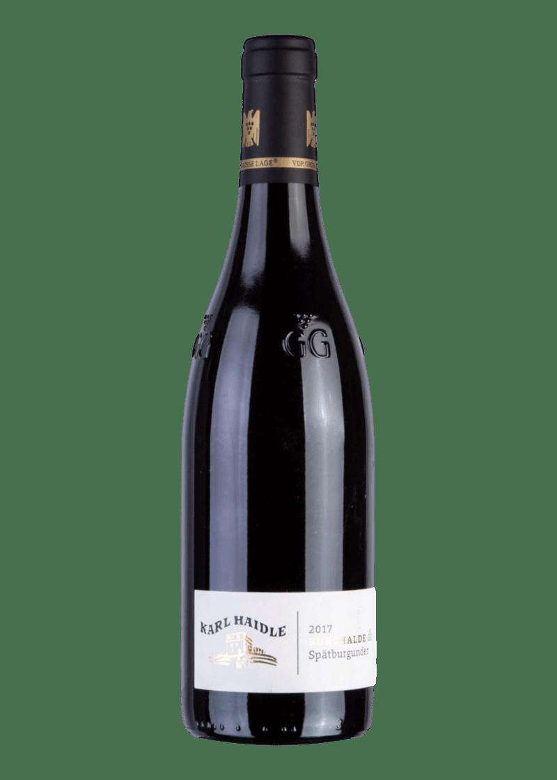 Weinflasche Burghalde GG Spätburgunder von Karl Haidle