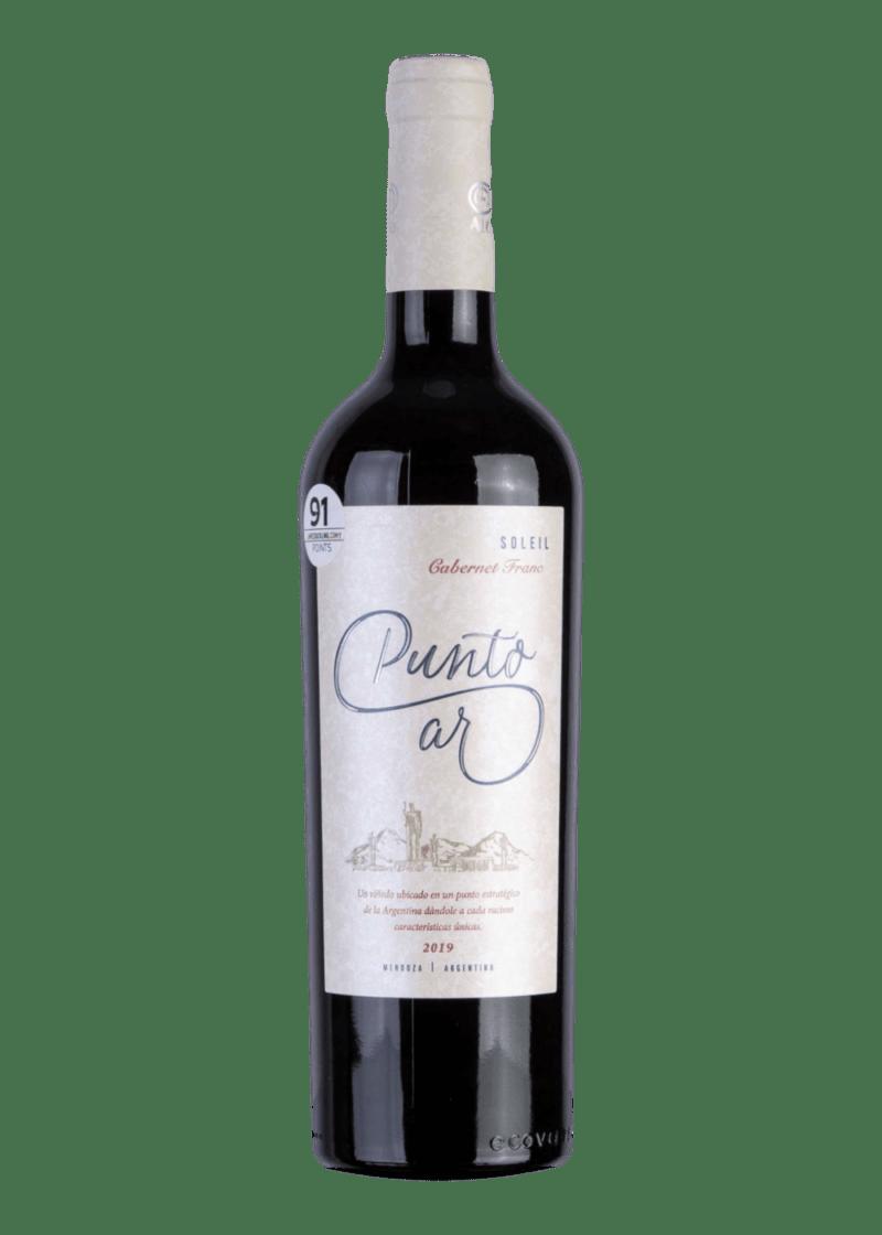Weinflasche Punto Ar Solei Cabernet Franc  von Bodega A16