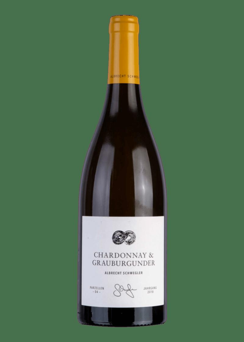 Weinflasche Chardonnay & Grauburgunder von Albrecht Schwegler