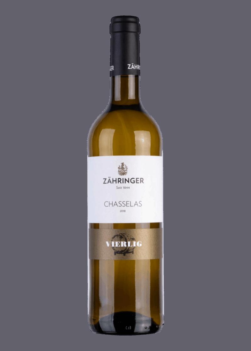 Weinflasche Chasselas Vierlig von Zähringer