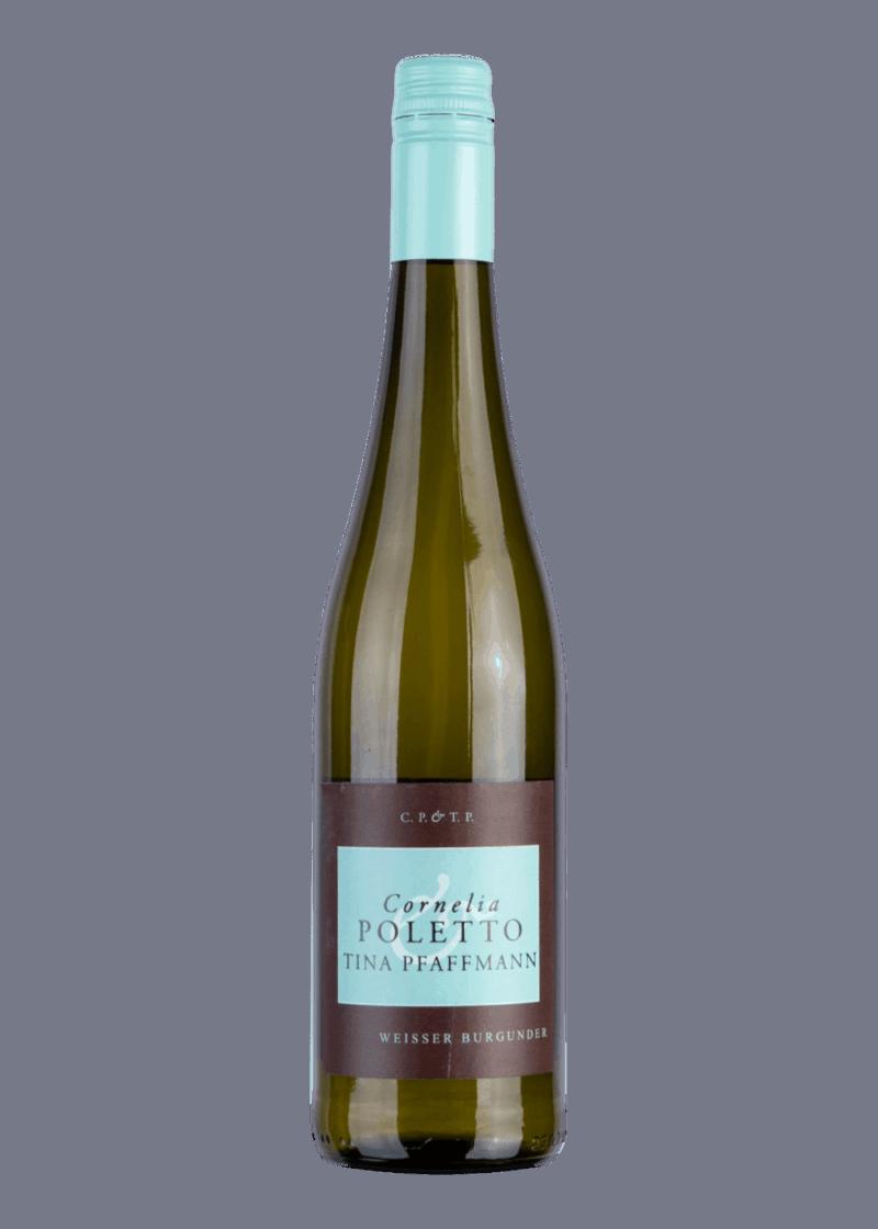 Weinflasche Weisser Burgunder - Cornelia Poletto von Tina Pfaffmann
