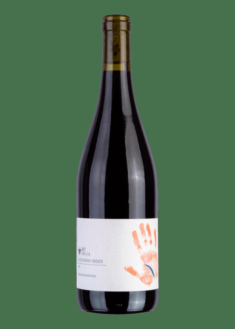 Weinflasche Emilia Cuvée Rot von Wagner von Wohlgemuthheim