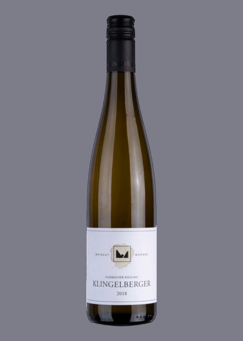 Weinflasche Klingelberger Dürbacher Riesling von Wörner