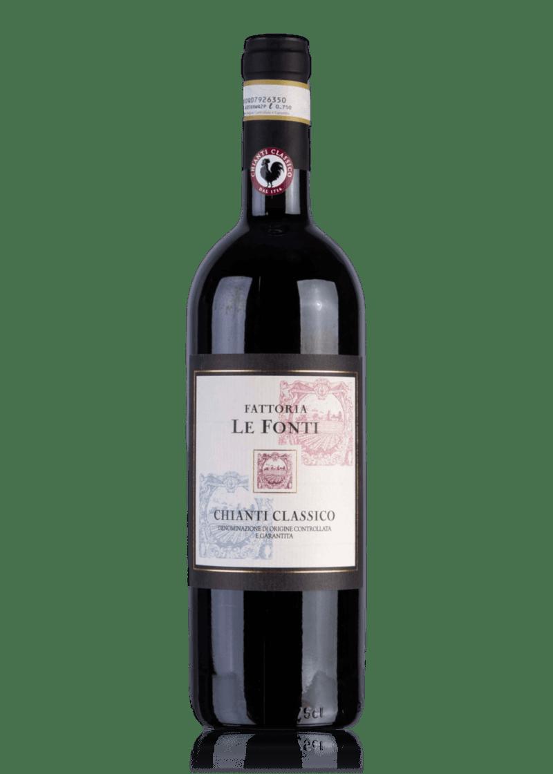 Weinflasche Chianti Classico von Fattoria Le Fonti