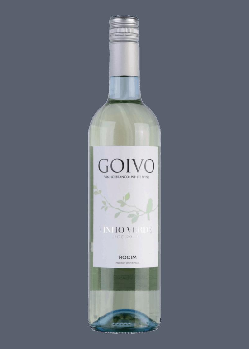 Weinflasche Goivo Vinho Verde von Herdade do Rocim