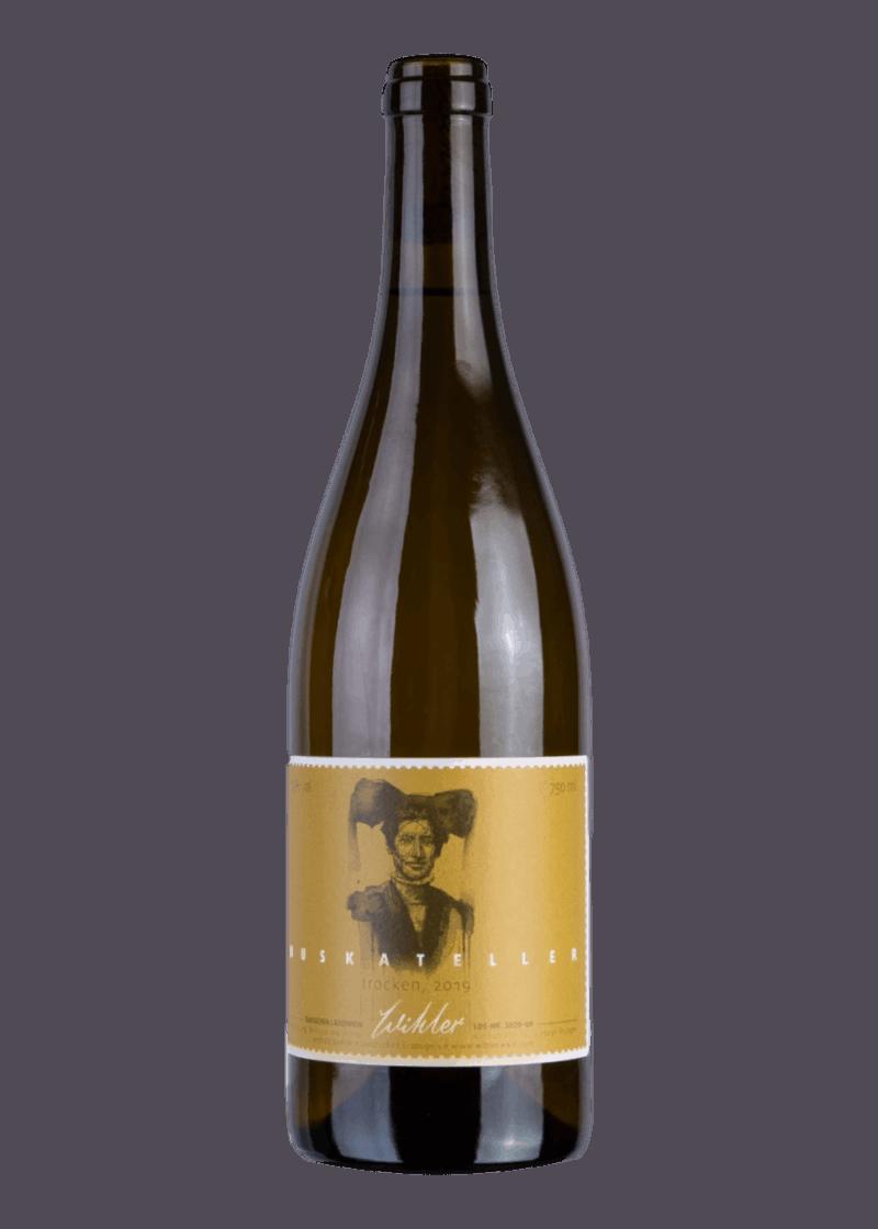 Weinflasche Muskateller von Wihler