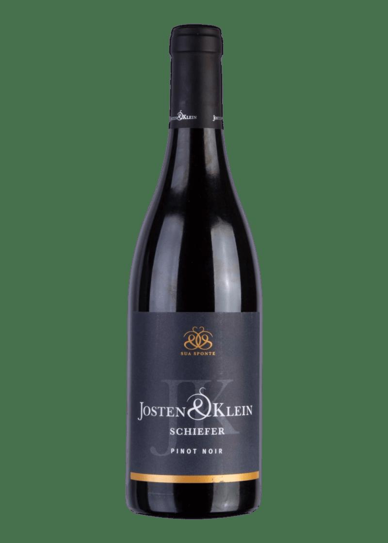 Weinflasche Pinot Noir vom Schiefer von Josten & Klein