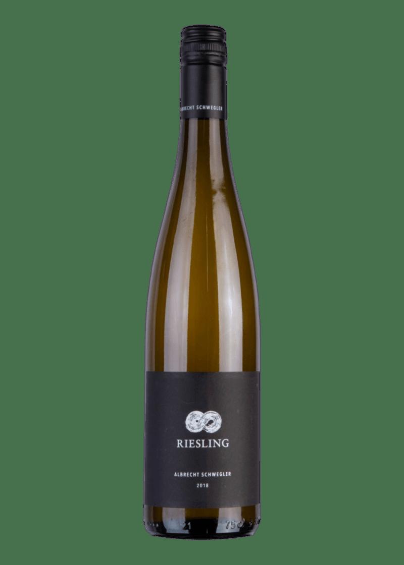 Weinflasche Riesling von Albrecht Schwegler