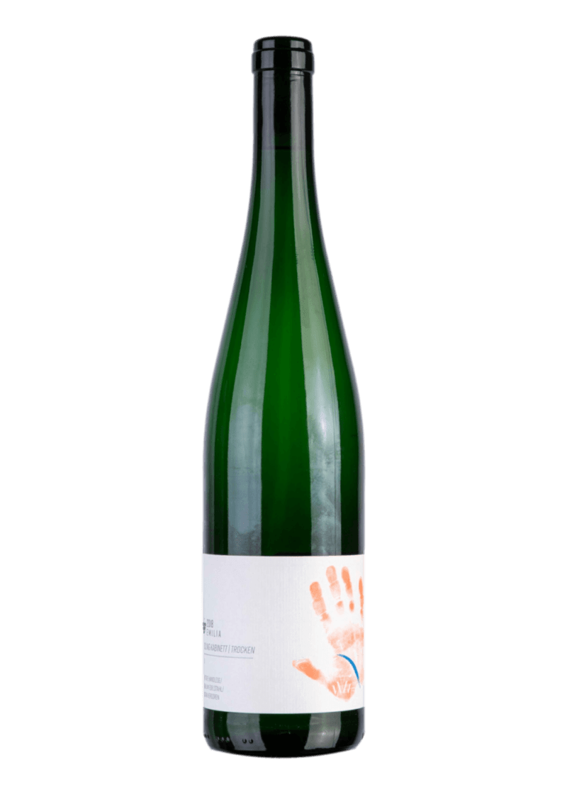 Weinflasche Riesling (alkoholfrei) von Kolonne Null