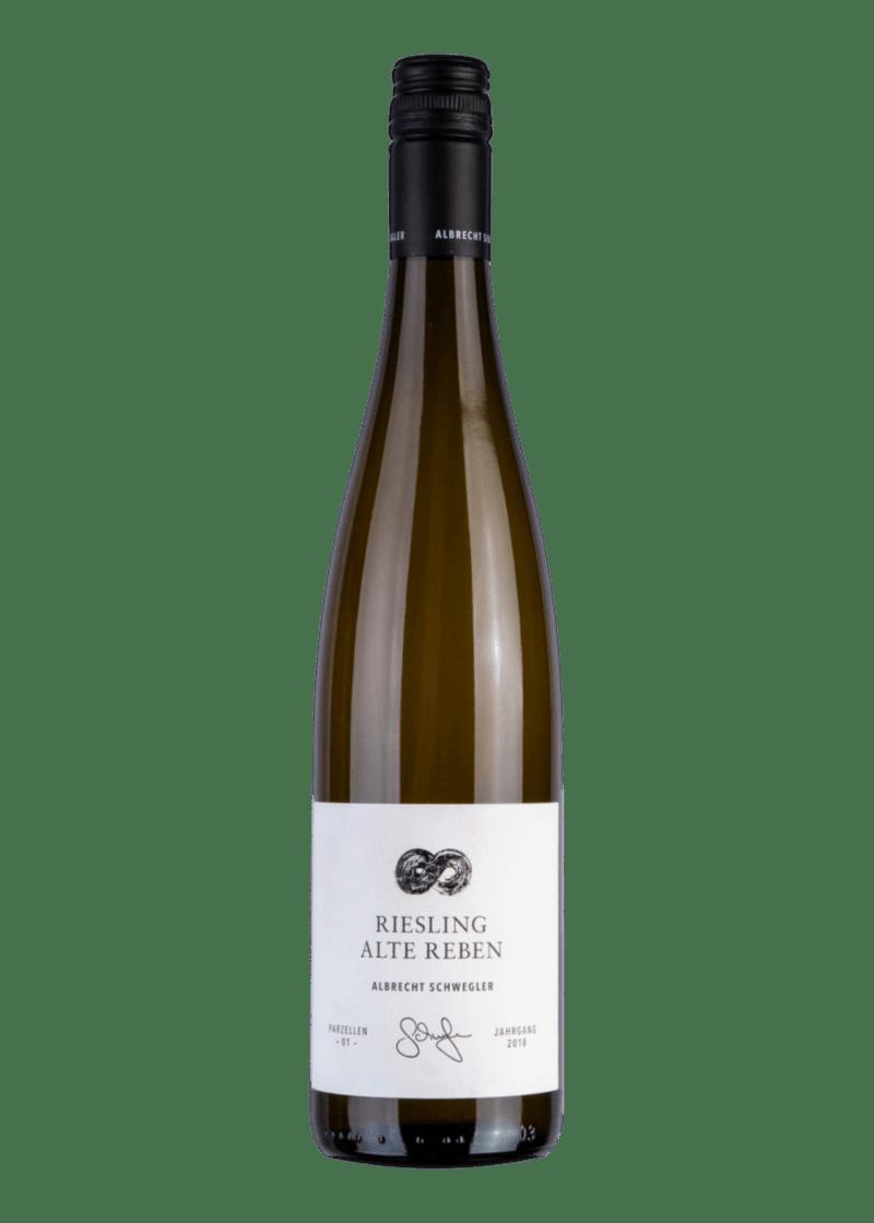 Weinflasche Riesling Alte Reben von Albrecht Schwegler