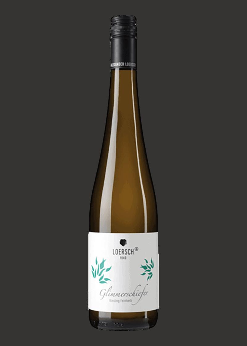 Weinflasche Riesling Glimmerschiefer feinherb von Alexander Loersch