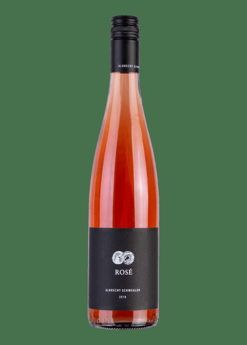 Weinflasche Rosé  von Albrecht Schwegler