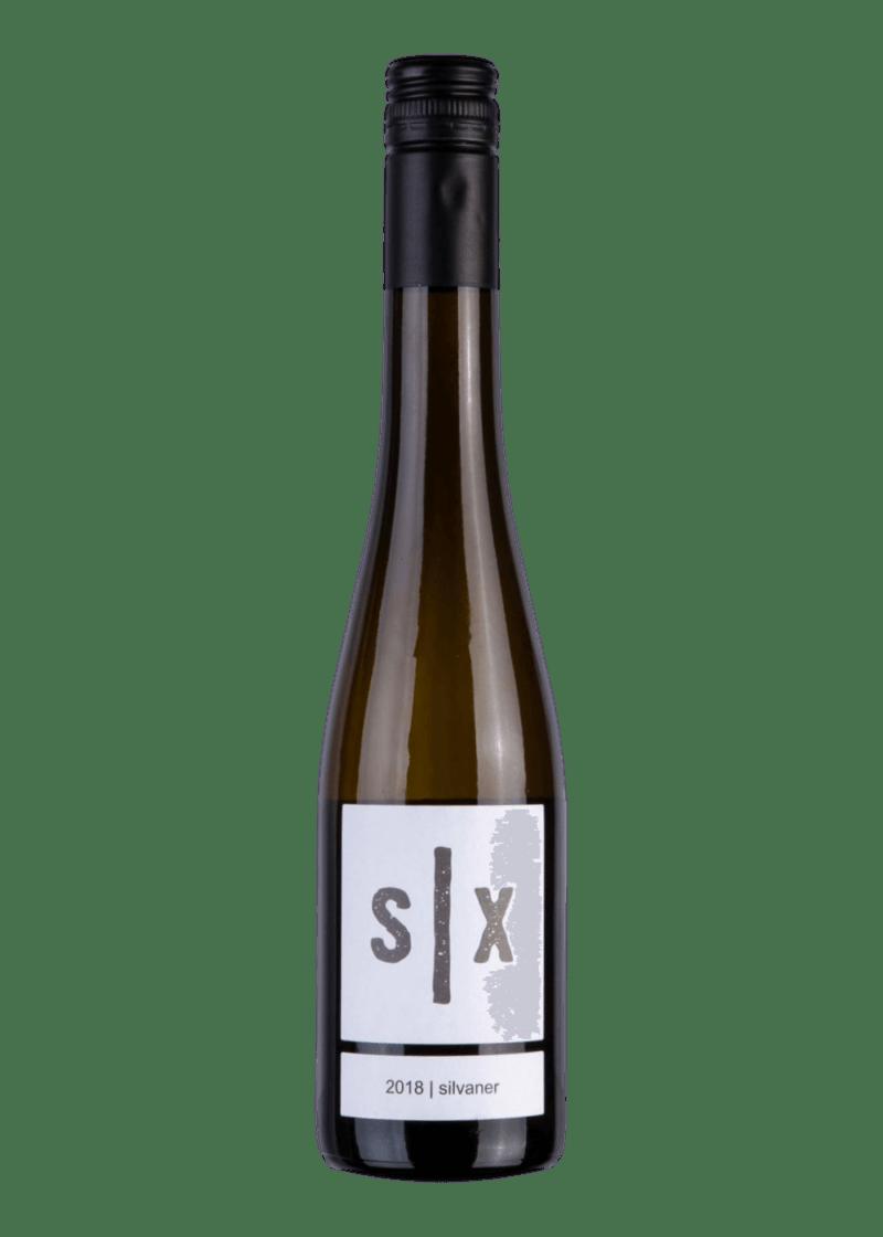Weinflasche Silvaner Auslese von Oliver Six