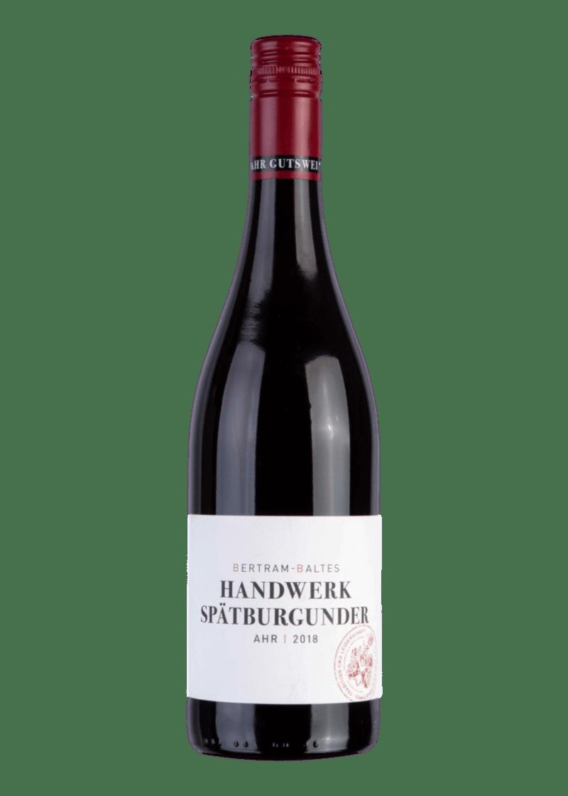 Weinflasche Handwerk Spätburgunder von Bertram-Baltes