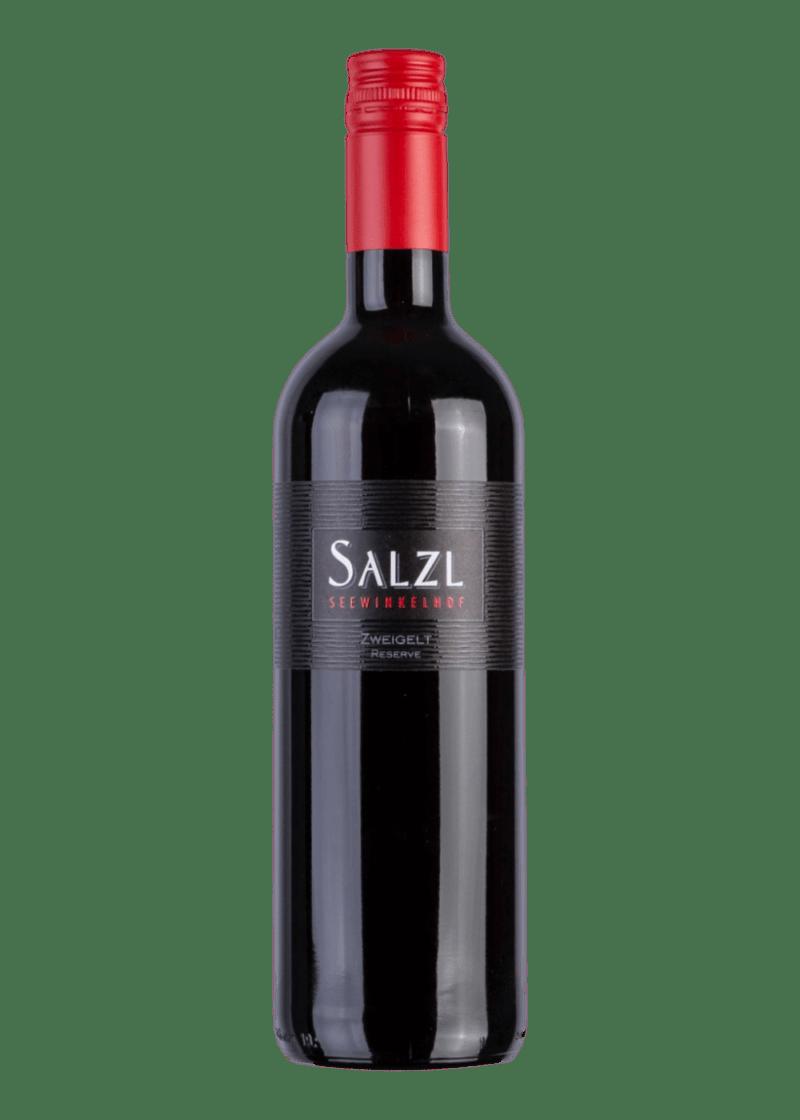 Weinflasche Zweigelt Reserve von Weingut Salzl Seewinkelhof
