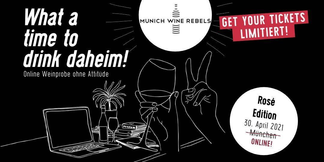 Termin für neues Online Wine Tasting am 16. April 2021