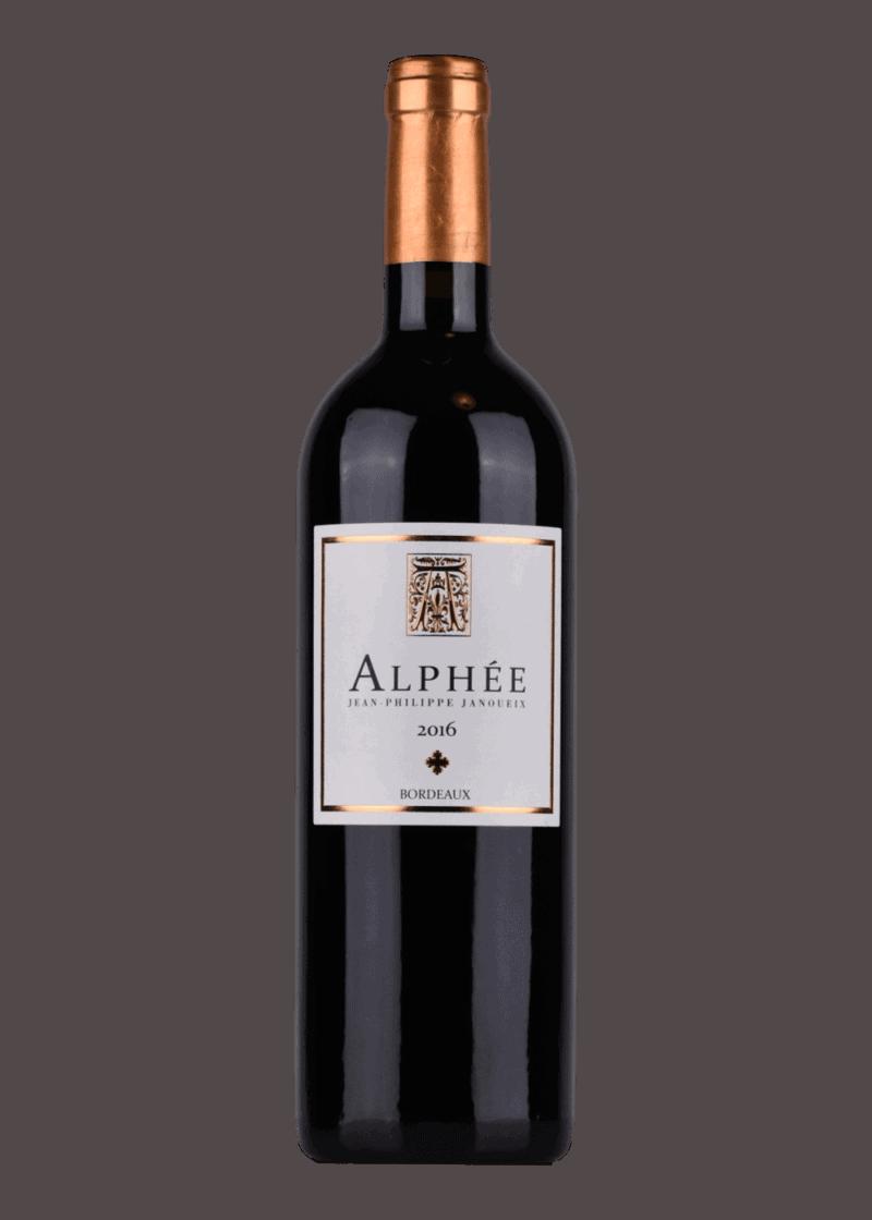 Weinflasche Alphée von Jean-Philippe Janoueix