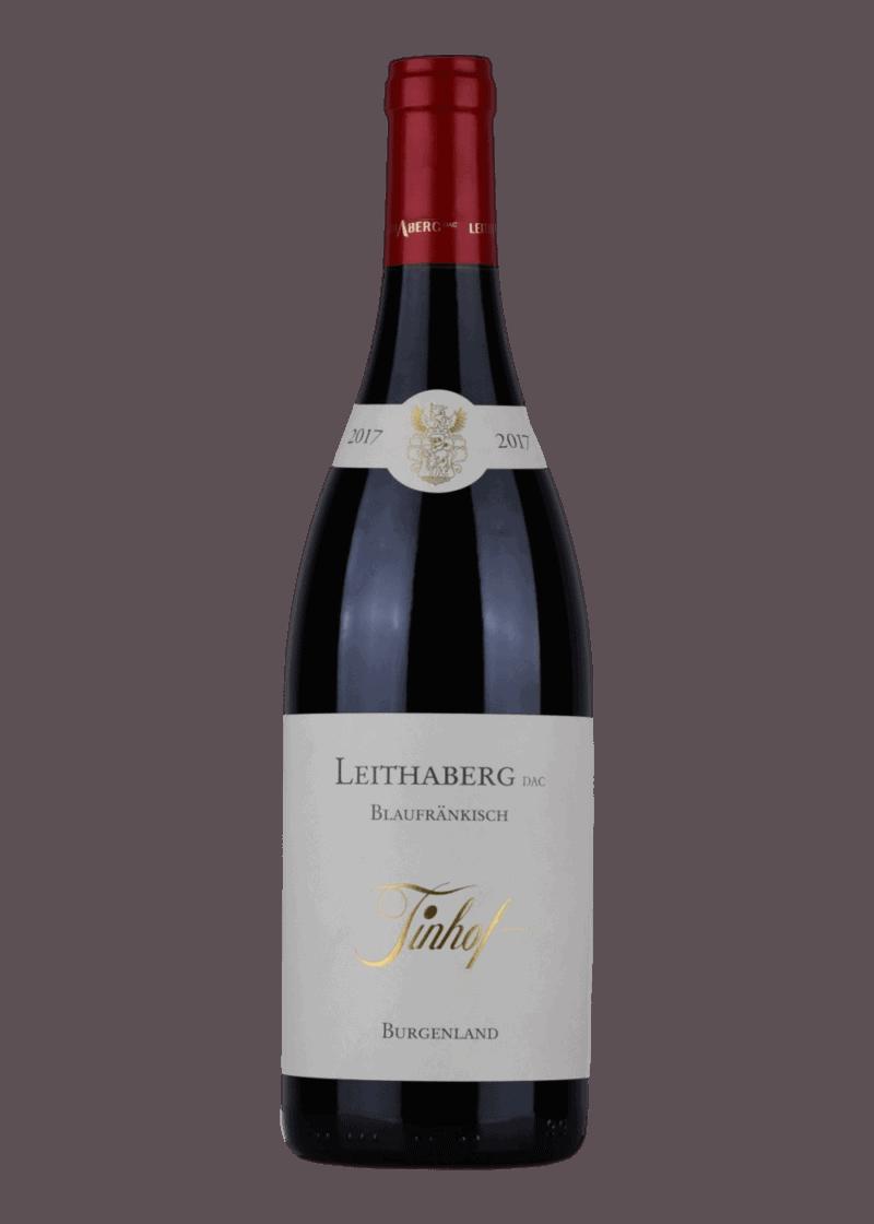 Weinflasche Blaufränkisch Eisenstadt DAC von Weingut Tinhof