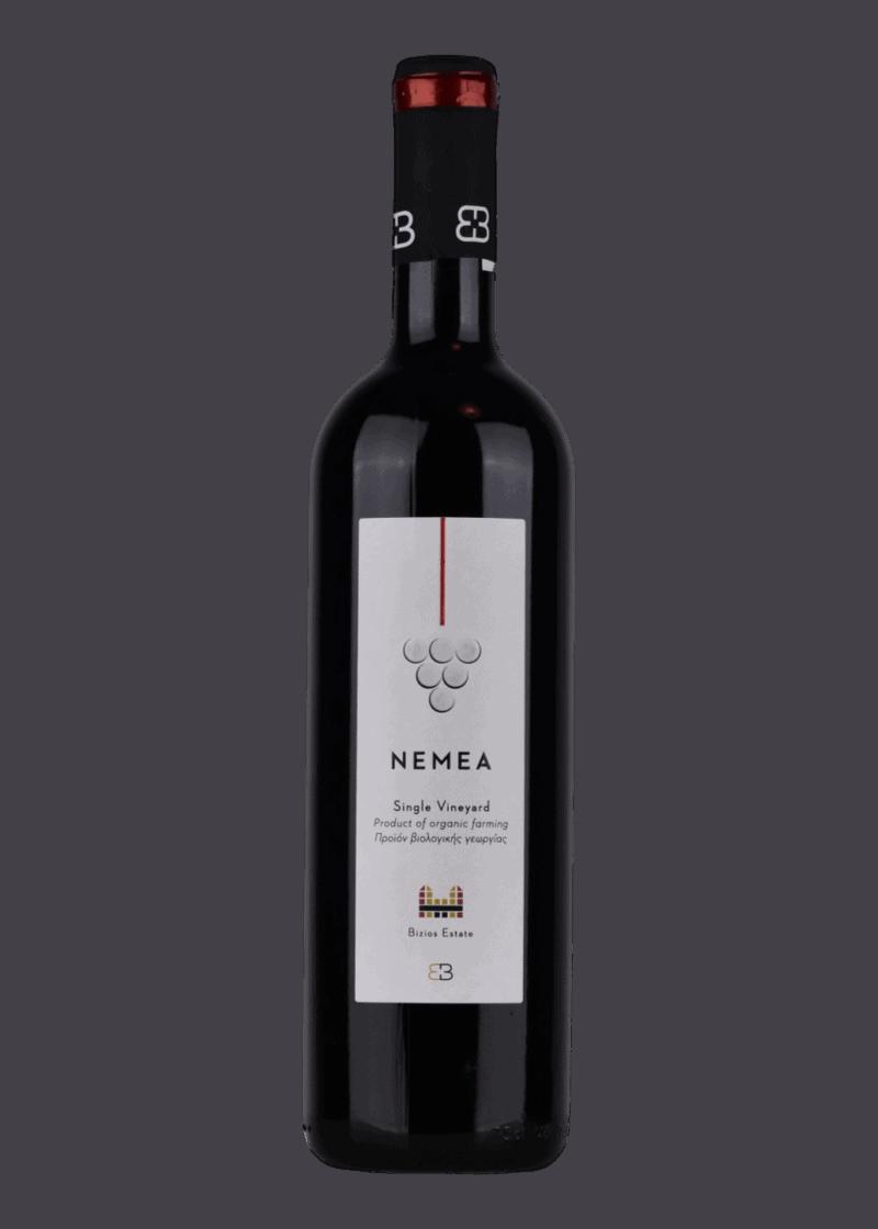 Weinflasche Nemea von Bizios Estate