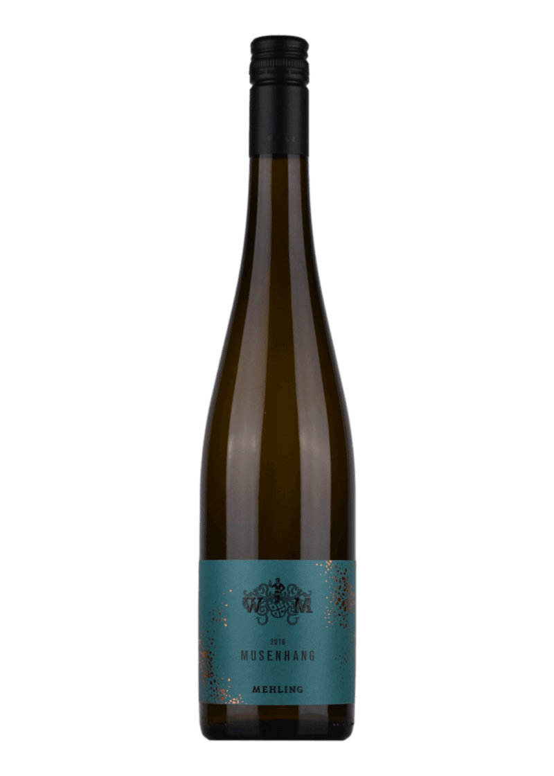 Weinflasche Riesling Forster Musenhang von Weingut Mehling