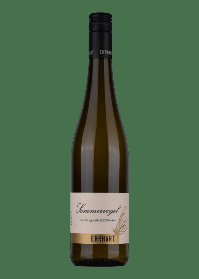 Weinflasche Sommervogel Weissburgunder von Weingut Ehrhart