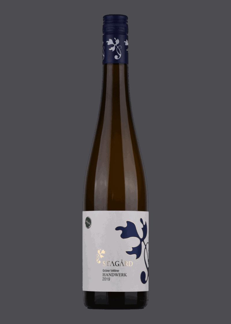 Weinflasche Handwerk Grüner Veltliner von Lesehof Stagard