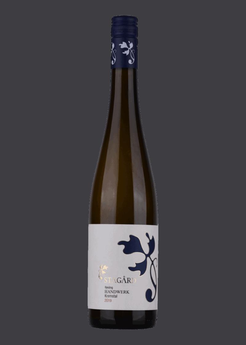 Weinflasche Handwerk Riesling von Lesehof Stagard