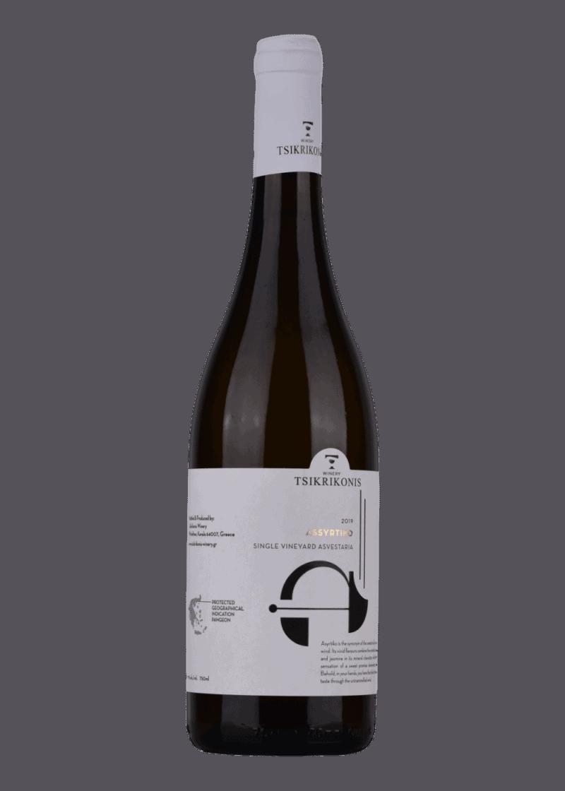 Weinflasche Assyrtiko von Tsikrikonis Vineyards