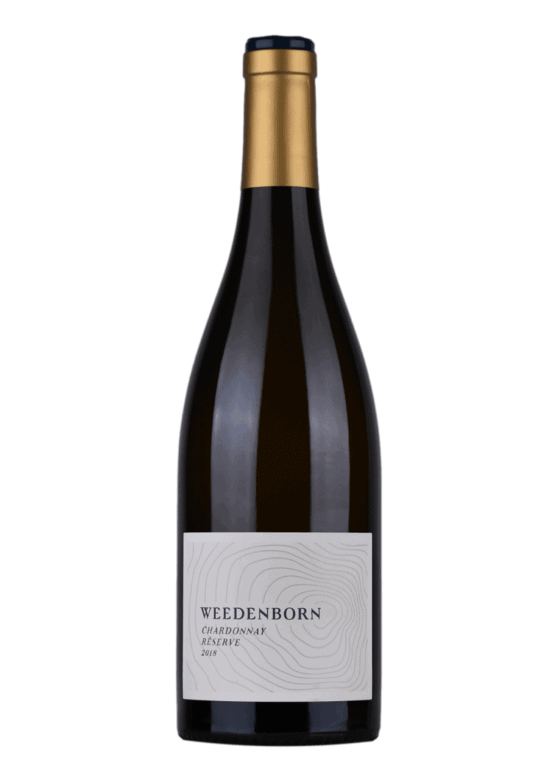 Weinflasche Chardonnay Reserve von Weedenborn