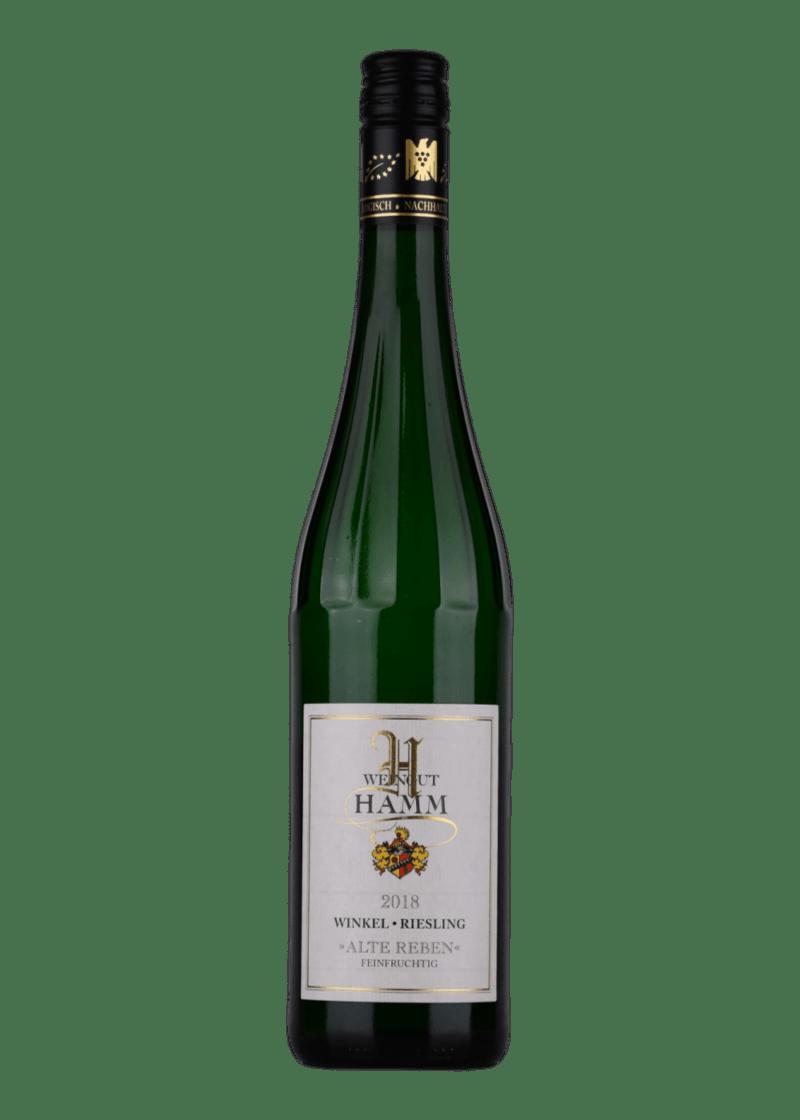 Weinflasche Riesling Winkel Alte Reben Spätlese von Weingut Hamm