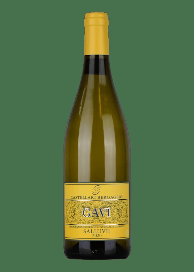 Weinflasche Gavi Salluvii von Castellari Bergaglio