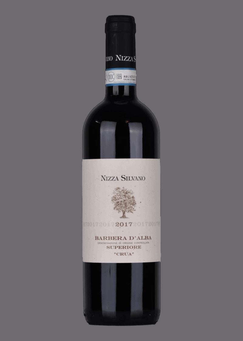 "Weinflasche Barbera D'Alba ""Crua"" Superiore von Nizza Silvano"