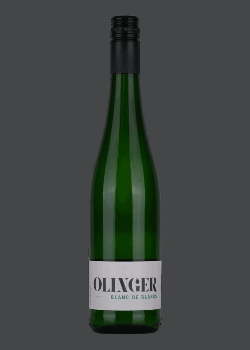 Weinflasche Blanc de Blancs von Weingut Olinger