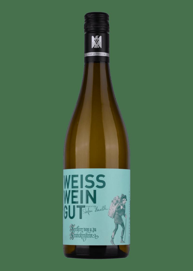 Weinflasche WEISS.WEIN.GUT Cuvée weiß 2019 von Freiherr von und zu Franckenstein