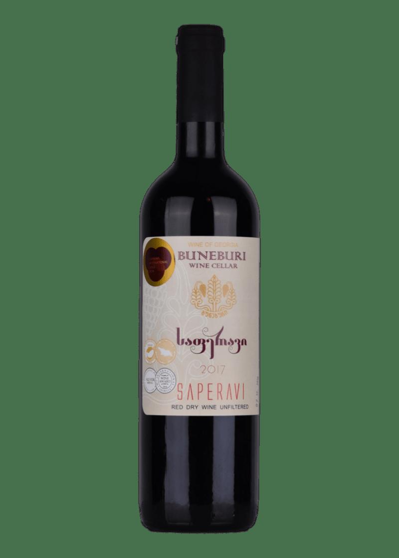 Weinflasche Buneburi Saperavi von Buneburi
