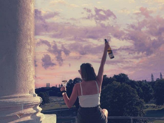 Dachterasse Sundowner Munich Wine Rebels
