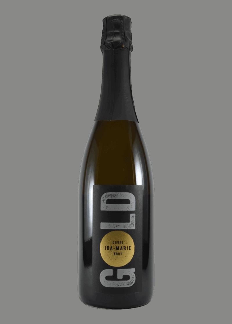 Weinflasche Cuvée Ida-Marie Blanc de Noir Brut von Leon Gold